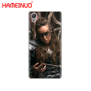 HAMEINUO Heda Lexa The 100 Cover Phone Case For Sony Xperia Z2 Z3 Z4 Z5 Mini Plus Aqua M4 M5 E4 E5 E6 C4 C5