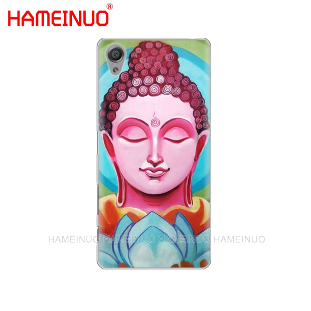 HAMEINUO Medicine Buddha Cover Phone Case For Sony Xperia Z2 Z3 Z4 Z5 Mini Plus Aqua M4 M5 E4 E5 E6 C4 C5