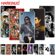 HAMEINUO Michael Jackson Dancing King Design Cover Phone Case For Sony Xperia Z2 Z3 Z4 Z5 Mini Plus Aqua M4 M5 E4 E5 E6 C4 C5