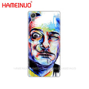 HAMEINUO Salvador Dali Cover Phone Case For Sony Xperia Z2 Z3 Z4 Z5 Mini Plus Aqua M4 M5 E4 E5 E6 C4 C5