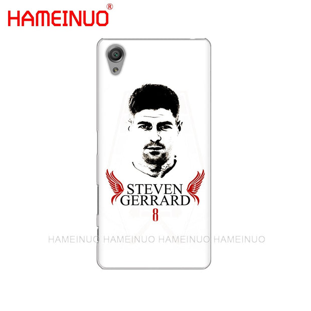 HAMEINUO Steven Gerrard Cover Phone Case For Sony Xperia Z2 Z3 Z4 Z5 Mini Plus Aqua M4 M5 E4 E5 E6 C4 C5