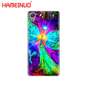 HAMEINUO The Mandala Chakra Cover Phone Case For Sony Xperia Z2 Z3 Z4 Z5 Mini Plus Aqua M4 M5 E4 E5 E6 C4 C5