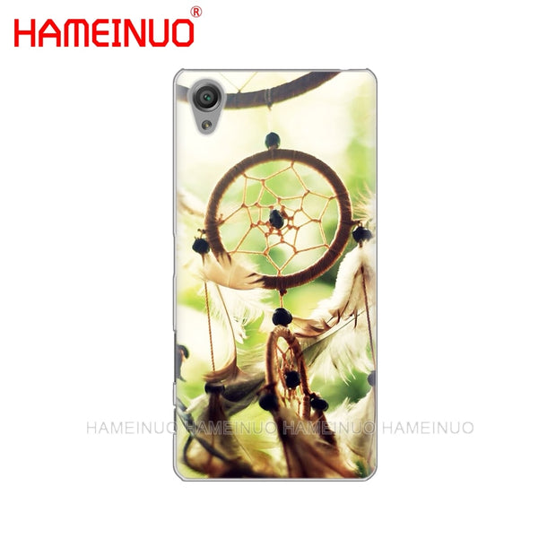 HAMEINUO Little Dream Catcher Anchor Cover Phone Case For Sony Xperia Z2 Z3 Z4 Z5 Mini Plus Aqua M4 M5 E4 E5 E6 C4 C5