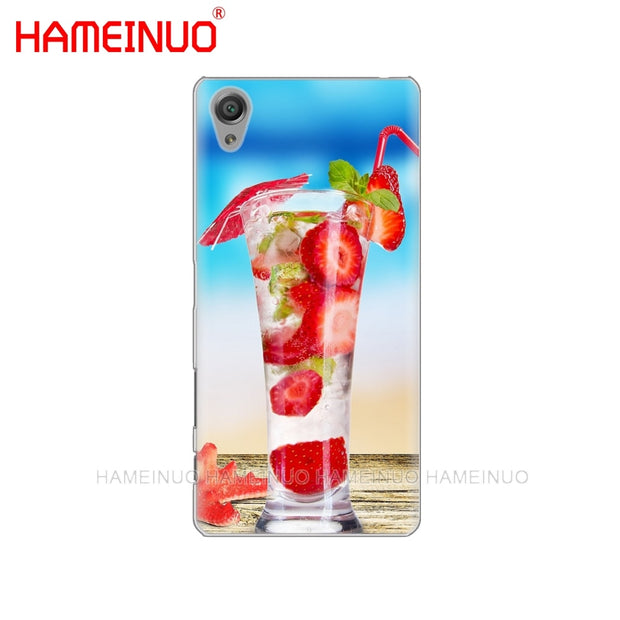 HAMEINUO Summer Beach Wave Sea Cover Phone Case For Sony Xperia Z2 Z3 Z4 Z5 Mini Plus Aqua M4 M5 E4 E5 E6 C4 C5