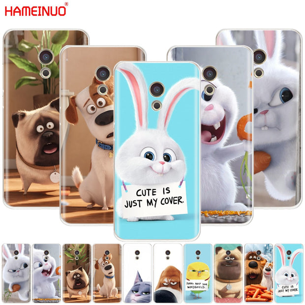 HAMEINUO The Secret Life Of Pets Cover Phone Case For Sony Xperia Z2 Z3 Z4 Z5 Mini Plus Aqua M4 M5 E4 E5 E6 C4 C5