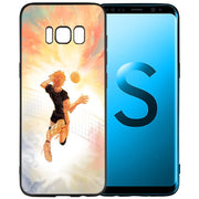 Haikyuu Hinata Attacks Anime Silicone Soft Case Cover Shell Coque For Samsung Galaxy S9 S8 Plus S7 S6 Edge S9+ S8+