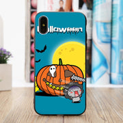 Halloween Pumpkin Castle Protective Phone Case Cover For IPhone 7/8 Plus X/XS