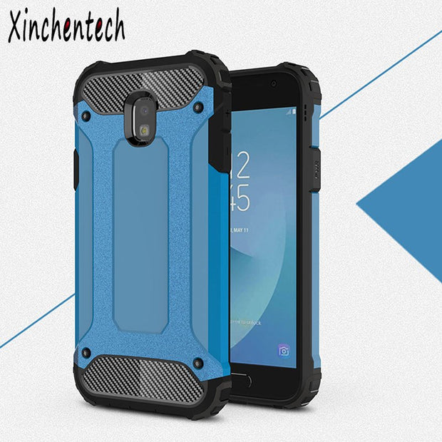 low priced b4d46 70052 Hard Armor Case For Samsung Galaxy J7 Prime Max J7 Pro Duo Rubber+PC Back  Cover Accessories Fundas On Samsung J7 2017 2018 Cover
