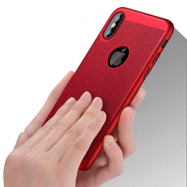Hard Matte Case For IPhone X XR XS Max 5s 5 SE 6s 6 Plus For IPhone 7 8 Case Plus 360 Full Cover Plastic Phone Cover X Cases