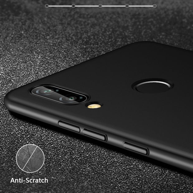 "Hard Matte Case For Huawei Mate 20 P20 Pro Lite Nova 3 3i Case 360 Full Cover PC Protection Case Honor 8C 7C 7A 5.7"" 8X Max Case"