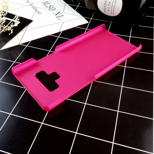 Hard Plastic Phone Case For Samsung Galaxy Note 9 Slim PC Matte Back Cover