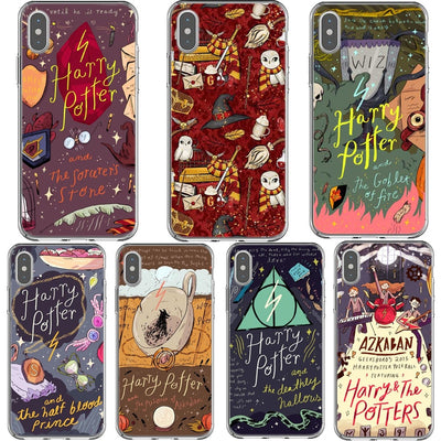 Harry Potter Hedwig Hogwarts Phone Case For IPhone XS MAX XR Comics Customer Posters Soft Cover For IPhone 7 8 6 6sPlus 5 5S SE