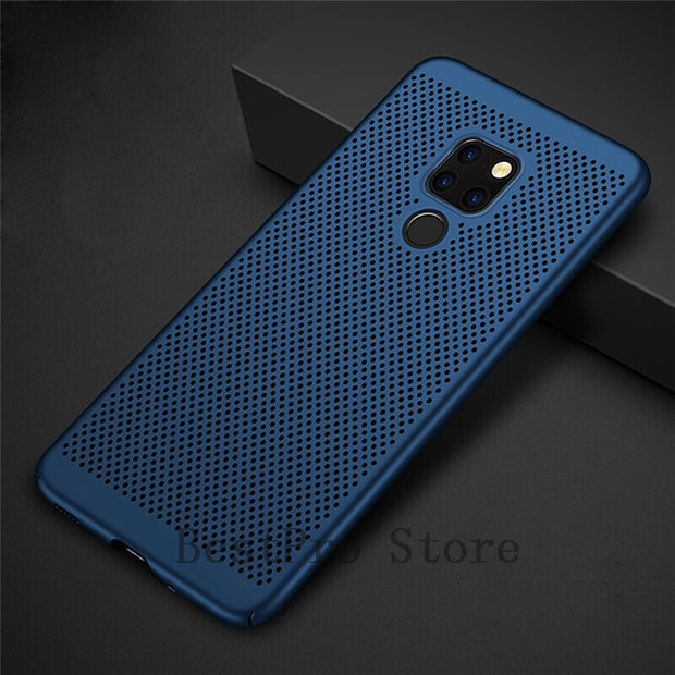 Heat Dissipation Case For Huawei Mate 20 Lite 10 Pro Cover For Huawei Mate 20 10 Pro Cover Capa 2019 New Cases Coque Funda Bag