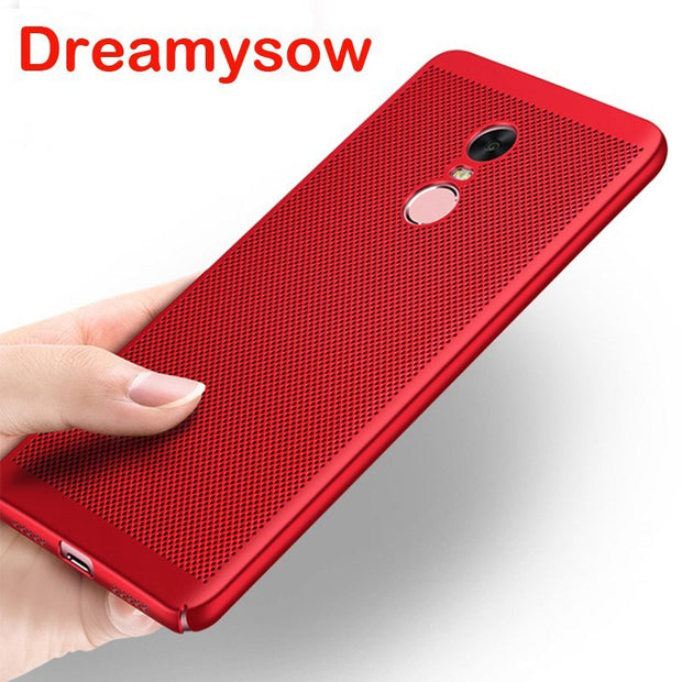 Heat Dissipation Case For Xiaomi MiPocophone F1 MAX3Pro 8 6X A2 Lite 5X A1 5C 5 5S Plus 6 Plus Max2 Redmi 6 6A 6Pro S2 Cover