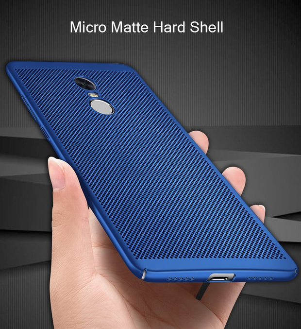 Heat Dissipation Case For Xiaomi MiPocophone F1 Mi6X MAX3Pro Redmi 6 6A 6Pro S2 5 Plus Note 5A Prime Note 4 4X Global 4A Cover