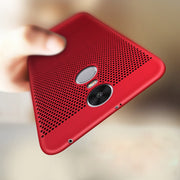 Heat Dissipation Phone Cases For Xiaomi MAX3Pro Mi8 6X/A2 5C Redmi S2 Note 4X 4 Pro 3S 5 Plus 6 6A 6Pro Hard Back PC Full Case