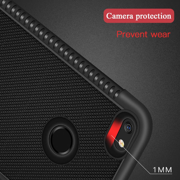 Heat Dissipation TPU Phone Case For Huawei P8 Lite 2017 P20 Pro Y9 Y7 Y6 Prime 2018 Enjoy 8 Plus Cover Coque For Honor 9i Case