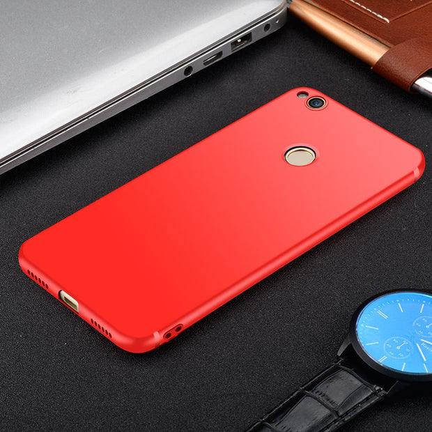HereCase Case For HUAWEI Honor 8 Honor 8 Lite Luxury Matte Silicone Tpu Case Ultra Thin Back Cover Phone Cses For Huawei Honor 8