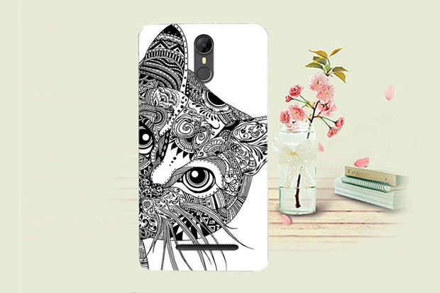 High Quality Phone Back Cases For Homtom HT27 Covers DIY Painted Lovely Cartoon UV Print Case For Homtom HT27 Cellphone