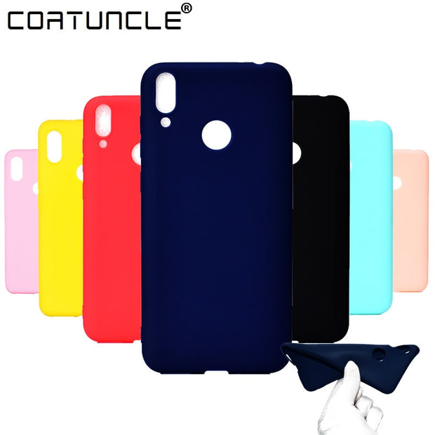Honor 8C Soft TPU Case On For Fundas Huawei Honor 8C Case On SFor Coque Huawei Honor 8C Case Silicone Cover Mobile Phone Cases