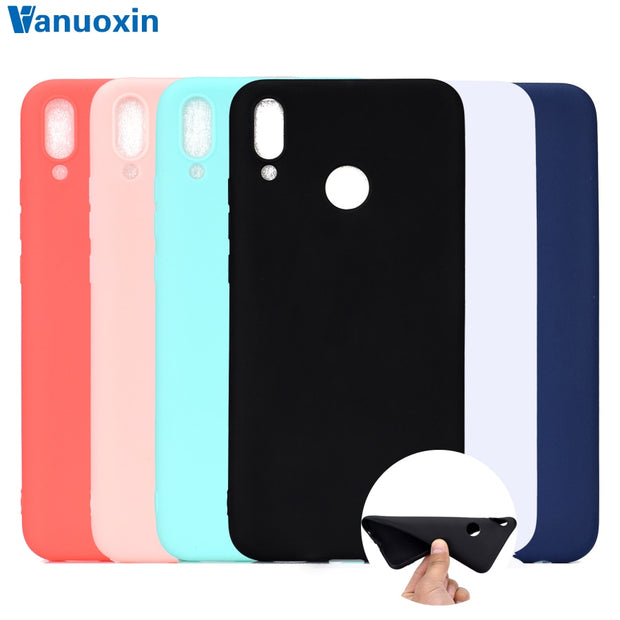 Huawei Y9 2019 Case On Huawei Y9 2019 Case Silicone Soft TPU Back Cover For Funda Huawei Y 9 Y9 2019 Cover Skin Phone Case Shell