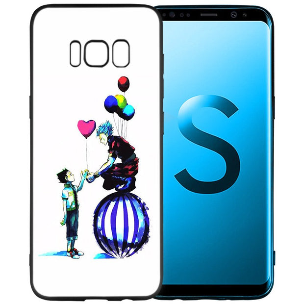 Hunter X Hunters OVA Anime Soft Black Silicone Case Cover Shell Coque For Samsung Galaxy S9 S8 Plus S7 S6 Edge S9+ S8+