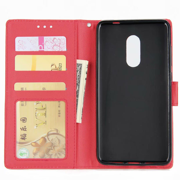 Hxairt Leather Wallet Case For Xiaomi Redmi Note5 Case Flip Cover For Xiaomi Redmi Note 5A Phone Case