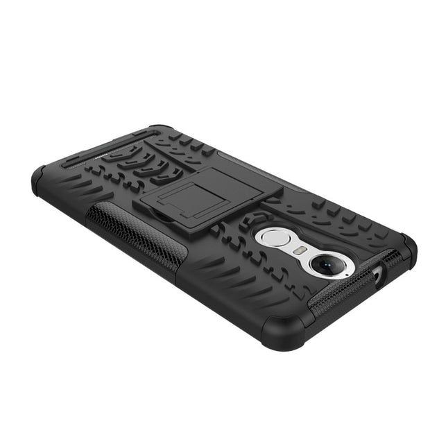 Hybrid Shockproof Rugged Armor Plastic And Rubber Case Cover For
