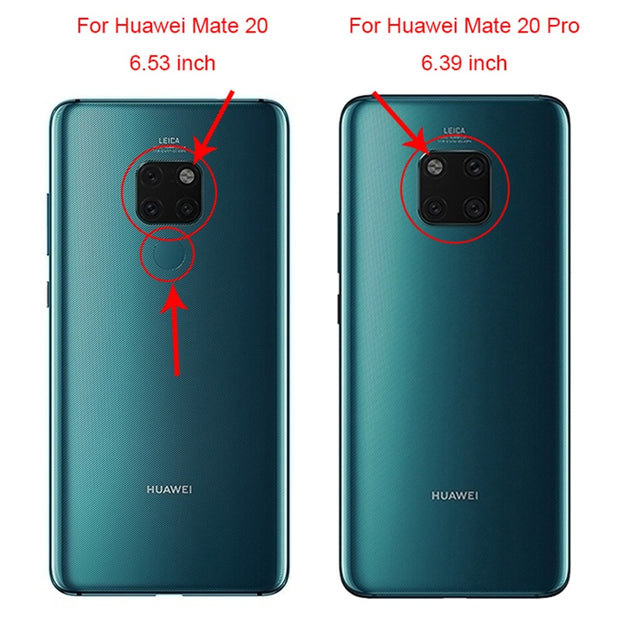 I Am Alone For Huawei Mate 20 / Mate 20 X Case Solf TPU Fashion Cute Color Mobile For Huawei Mate 20 Pro 6.39 DIY Bags