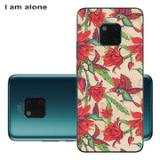 I Am Alone Phone Cover For Huawei Mate 20 /Mate 20 X Case Solf TPU Cellphone Fashion Cute For Huawei Mate 20 Pro Shipping Free