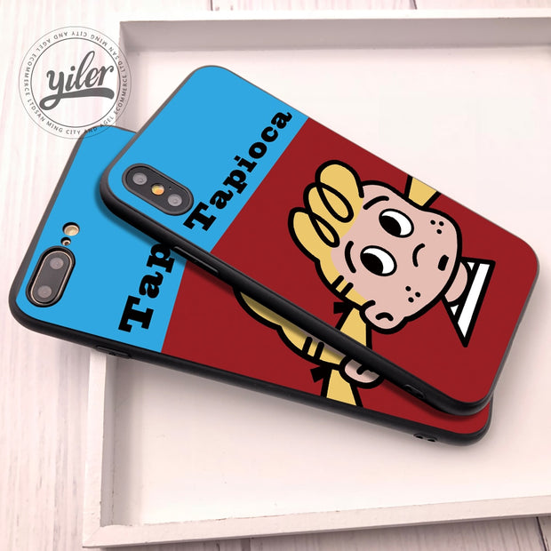 Ins With The Cute Cartoon For Funda IPhone X Mobile Phone Shell For IPhone 8 Plus 6s 7 Lovers Set For Case IPhone Xs Max XR 5 6