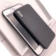 Black soft tpu case