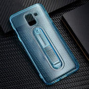 Invisible Ring Phone Case For Samsung Galaxy J4 J6 2018 Case Transparent TPU Back Cover For Samsung J8 J6 2018 Capa Thin Coque