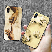Italy Leonardo Da Vinci Artwork Painting Soft Silicone TPU Phone Case For IPhone 8 7 6 6s Plus X Xs Xr Xs Max 5 5s SE 5C Cass