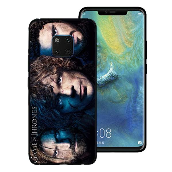 Jon Snow Games Of Thrones Phone Case For Huawei Mate 10 20 Lite Mate 10 20  Pro P20 Lite Black Soft Silicone Coque Case