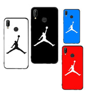Jordan Cover Case For Huawei P9 P10 P20 Lite Anti-Fall Sport Soft Shell Cases For Huawei P Smart Mate 10 Lite P9 Lite Mini