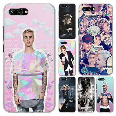 Justin Bieber Transparent Hard Phone Case Cover For Huawei Honor 8 9 Lite 10 10 Lite 8X 6X 7X 7S 4C 6C Pro