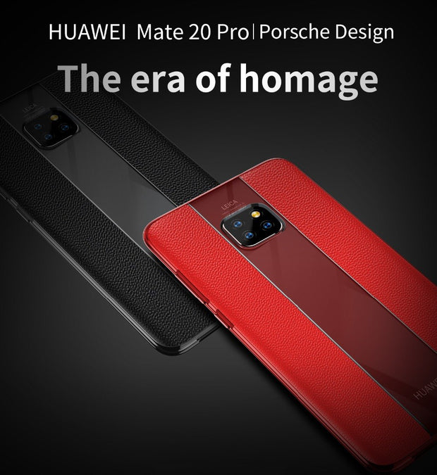 KAPEED Phone Case For Huawei Mate 20 Pro Case Luxury Cowhide Flagship Case Cover For Huawei Mate 20 Pro Mate 20X Case Fundas