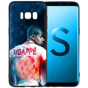 Kylian Mbappe Scrub Silicone Soft Cases Cover Shell Fundas For Samsung Galaxy S9 S8 Plus S7 S6 Edge S8+ S9+ S8Plus S9Plus