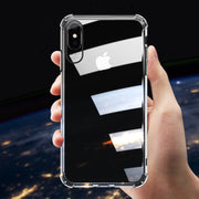 LOLEDE Case For IPhone XS XR XS Max Cover For IPhone XR XS 8 7 6S Clear Anti-knock Soft Silicone Case Transparent Shockproof