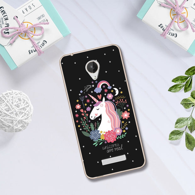 Lovers Phone Case For Micromax Canvas Spark Q380 Case Cover Coque Print Silicon For Micromax Q380 Capa Chic 4.7'' Fundas