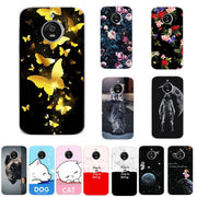 Lovers Phone Case For Motorola Moto E4 Plus Case Cover Coque Print Silicon For Motorola Moto E4 Plus Capa Chic 5.5 Inch Fundas