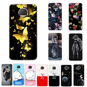 Lovers Phone Case For Motorola Moto G5S Case Cover Coque Print Silicon For Motorola Moto G5S Capa Chic 5.2 Inch Fundas