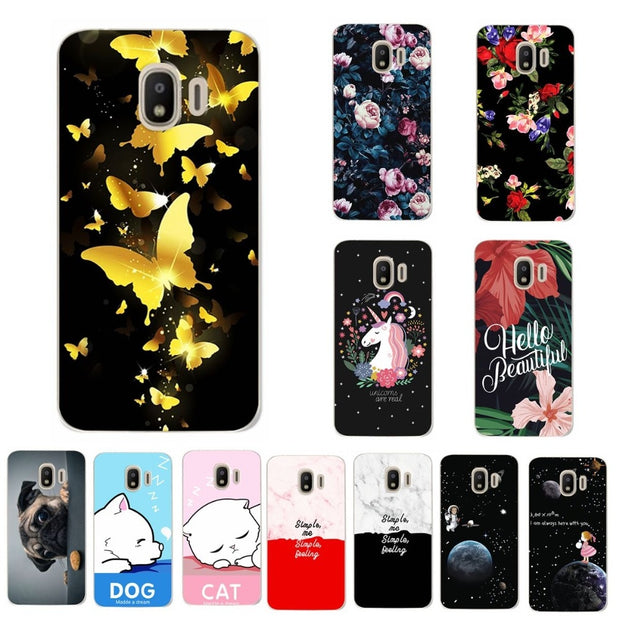 Lovers Phone Case For Samsung Galaxy J2 Pro J250F Case Cover Silicon Coque For Samsung Galaxy J2 Pro 2018 Capa Chic Fundas 5.0''