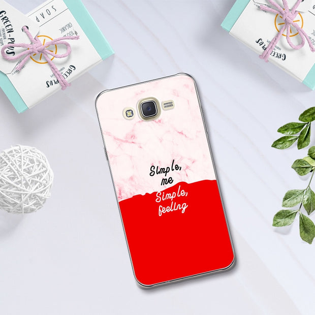 Lovers Phone Case For Samsung Galaxy J7 Neo J7 Nxt Case Cover Coque For Samsung J7 Core J7 Nxt Neo SM-J701 Capa Chic Fundas