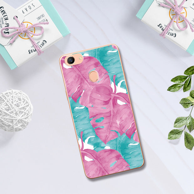Lovers Printed Phone Case For OPPO F5 A73 A73T Case Silicon Soft TPU Chic Back Cover For OPPO F5 Coque For OPPO F5 6.0 Inch