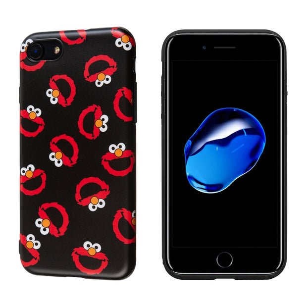 Luxury Brand Soft Silicone Cover For IPhone Case X 10 XS Max 7 8 Plus 6 6S Cute Cartoon Vintage Red Animal Floral Black Coque