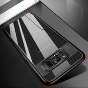 Luxury Business Phone Case For Samsung S8 Plus S7edge Note 8 J3 J5 J7 A5 A7 J5Prime Silicon Back Cover Camera Protection Case