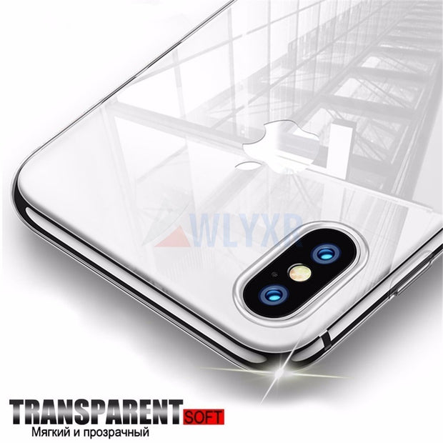 7195d1cec3f Luxury Case For IPhone X XS 8 7 6 4 5S Max Plus Capinhas Ultra Thin ...