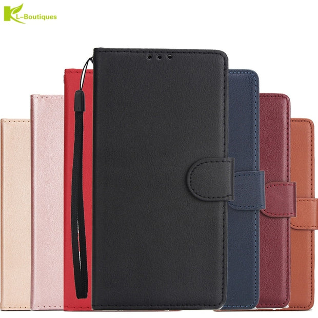 Luxury Flip Leather Case For Samsung Galaxy J2 Pro 2018 Etui On For Fundas Samsung J2Pro 2018 Lanyard Wallet Card Cover Coque